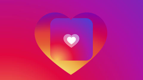 Instagram Like Notification 4K Animation