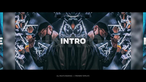 Mirror Opener - Photo Intro // Premiere Pro Premiere Pro Template