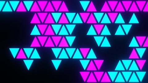 Blink Triangle Motion Background 1