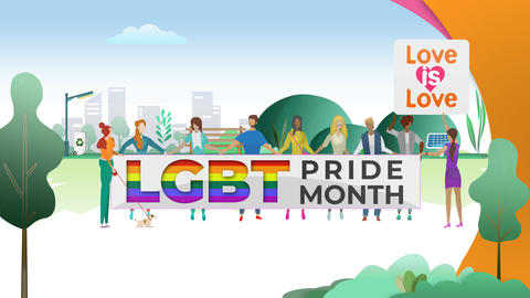 LGBT Pride Month Animation