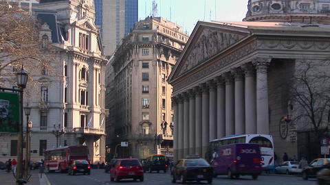 Buenos Aires, Argentina capitol afternoon light Stock Video Footage