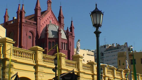 Buenos Aires, Argentina buildings, architecture Stock Video Footage