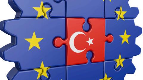 Puzzle EU and Turkey Animation