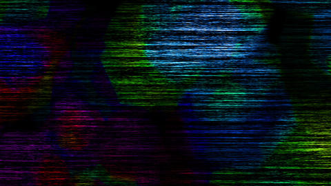 Dark Colored Noise Lines Dirty Flowing Abstract Background Animation