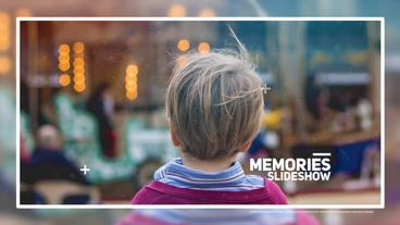 Memories Slideshow After Effects Template