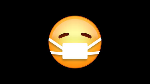 Medical Emoji Animated Loops with Alpha Channel 애니메이션