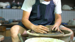 Pottery being made Footage