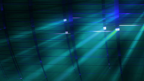 Elegant Grid Light Rays Cyan_01