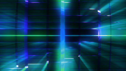 Elegant Grid Light Rays Cyan_01 0