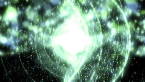 宇宙 空間 キラキラ CG動画