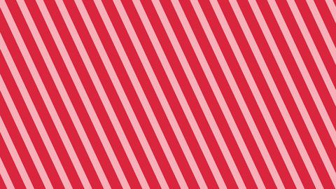 斜めのストライプ 赤 細い ループ CG動画