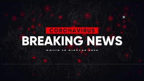 Coronavirus Opener. Breaking News