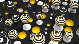 Bright Spheres Motion 69 Animation