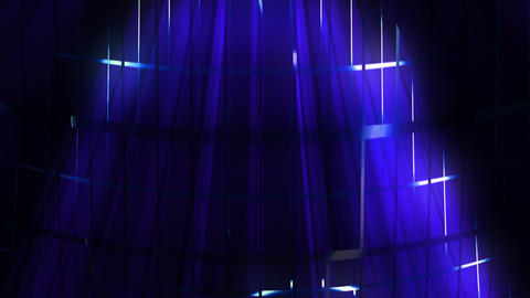 Elegant Grid Light Rays 47 Animation