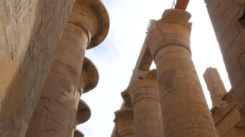 Several Ancient Columns in a Row Live Action