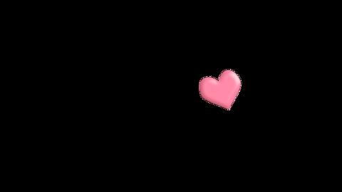 ハートマーク CG動画