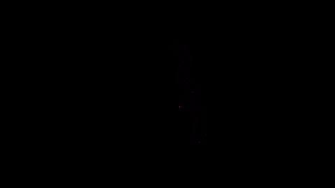 震えるマーク CG動画