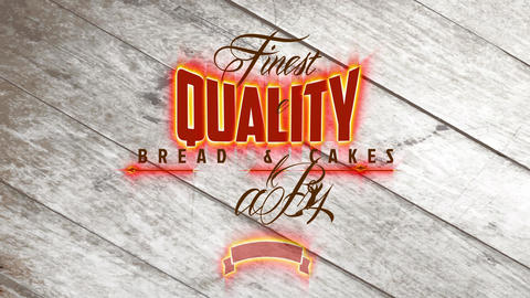 finest value food and cakes bakery design with words written in several types of old-fashioned and Animation
