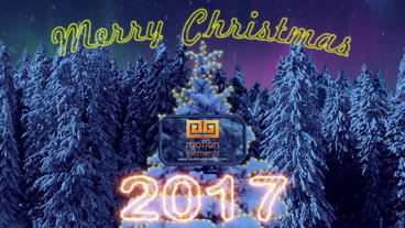 Christmas & New Year 2017 After Effects Projekt