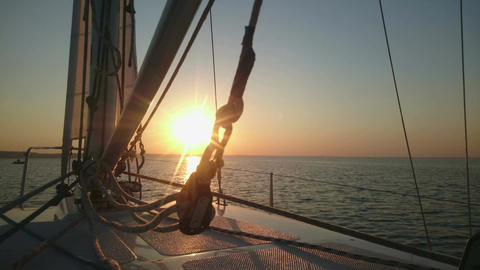 Breathtaking sunrise on horizon, start of new day, hopes for future, challenge Footage