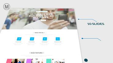 Website Presentation Plantilla de After Effects