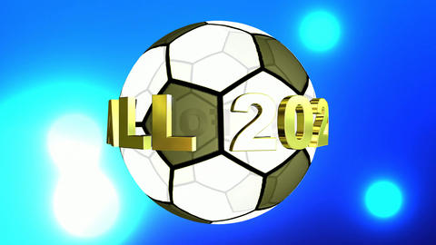 667 4k 3d two animations for football subject one with green sceren Animation