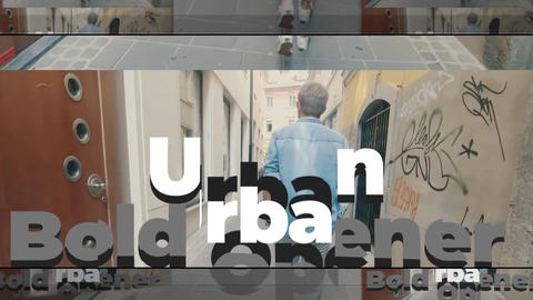 Urban Bold Opener Premiere Proテンプレート