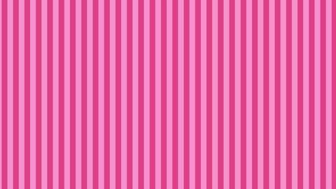 縦のストライプ ピンク ループ CG動画