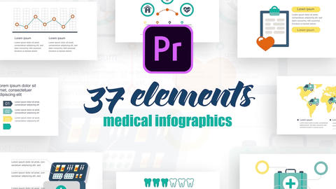 Infographics MOGRT vol.3 Motion Graphics Template