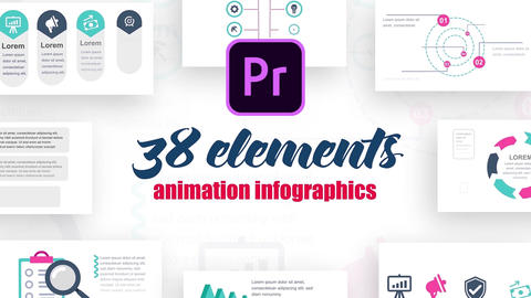 Infographics MOGRT vol.9 Motion Graphics Template