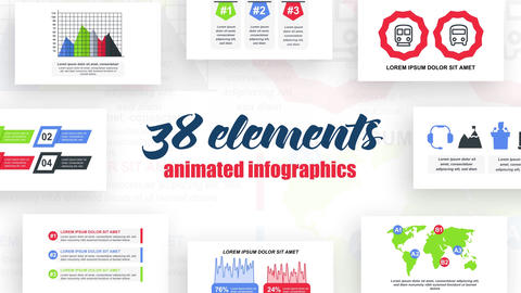 Infographics vol.35 After Effects Template