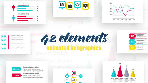 Infographics vol.34 After Effects Template