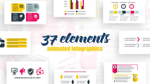 Infographics vol.31 After Effects Template