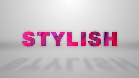 Typo stylish logo After Effects Template