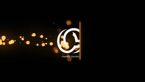 Glow Particles Logo Reveal Apple Motion Template