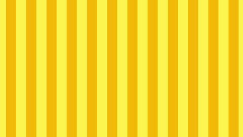 縦のストライプ 黄色 線太い ループ CG動画