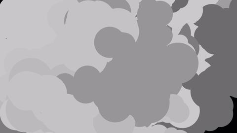 Abstract grey smoke animation Animation