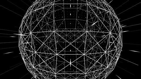 3D Polysphere VJ Loop Animation