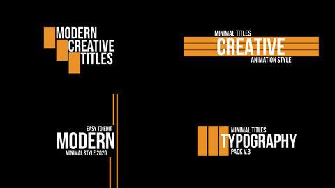 Clean Titles v 3 Premiere Pro Template