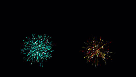 Colourful firework celebrate video.Firework celebration Animation