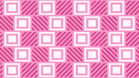 Cute Kawaii pastel tile pattern Animation