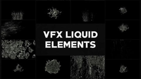 VFX Liquid Pack Apple Motion Template