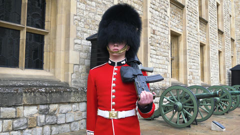 Marching Guards in the Tower of London Live Action