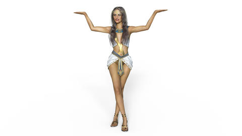 India Dancer CG動画素材