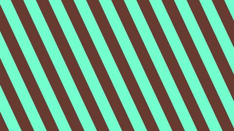 斜めのストライプ チョコミント 太い ループ CG動画
