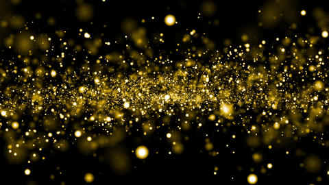 yellow particle Galaxy star space loop background animation Animation