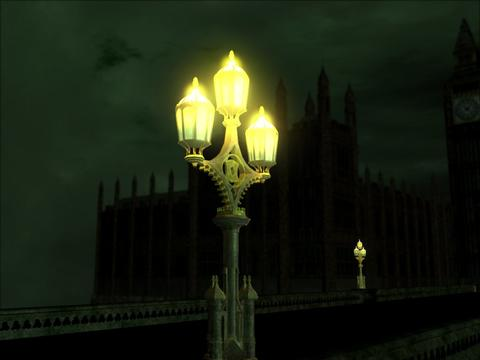 Westminster Bridge Lamp 3D Model