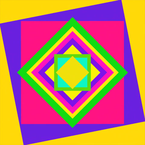 Colorful square background Animation