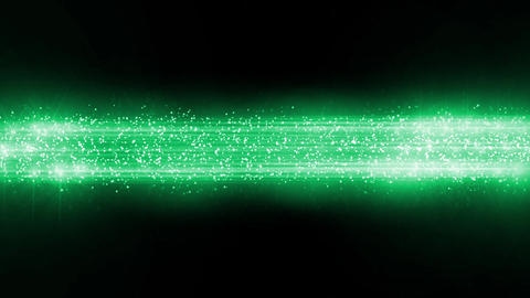 緑 パーティクル 宇宙 背景 バックグラウンド ループ アニメーション CG動画