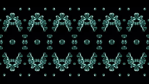 Abstract Pattern Symmetric Background Animation